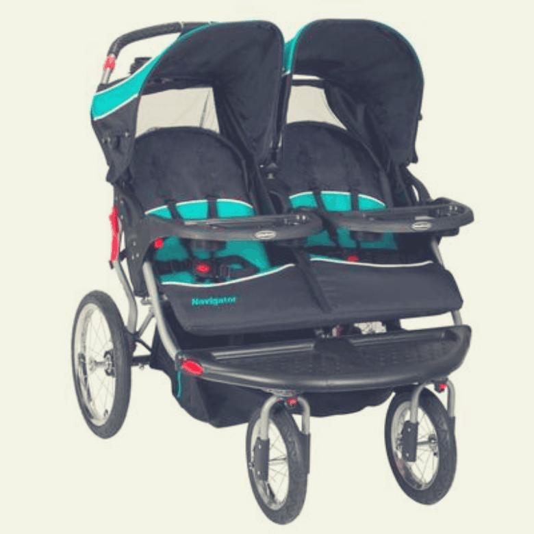 Baby Trend Navigator Double Jogger Stroller Review | Non ...